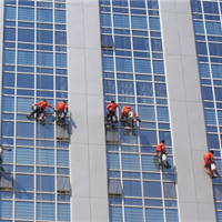 天津外墙清洗、 天津屏幕清洗、外墙粉刷