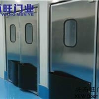 天津防撞不锈钢自由门  防撞门 洁净门