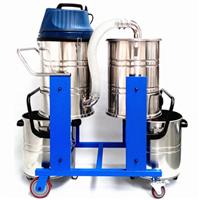 供应大型工厂用吸尘器双桶式工业吸尘器