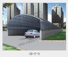 供应地下停车场出入口车棚膜结构
