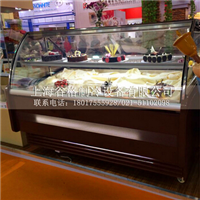 牛奶慕斯风幕柜甜品保鲜柜