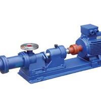 佛山浓浆泵厂,I-1B不锈钢螺杆浓浆泵