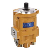 CBHYG双联齿轮油泵 长源液压 上海齿轮泵
