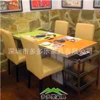 多多乐板式火锅桌 火锅设备 专业厂家定制