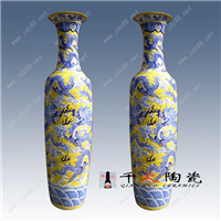 供应陶瓷大花瓶落地瓷器大花瓶