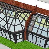 十大门窗品牌提供阳光房设计效果图