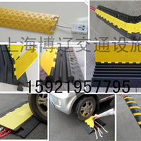 供应三线槽减速带 PVC线槽板 舞台铺线板