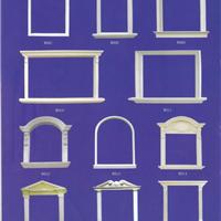 GRC构件,GRC装饰构件,GRC装饰线条