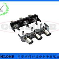 BNC1*3PORT光端机视频连接器