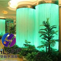 供应水景观工程排管高端气泡墙屏风