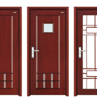 供应实木豪华门|雕花门|双开门|子母门