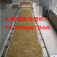 供应PVC仿大理石板材机械设备佳浩专利产品