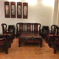供应广东集古韵今古典红木家具分色建国沙发
