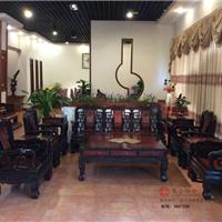 供应广东大不同红木家具集古韵今红木沙发