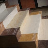 时尚抛光砖加工生产防滑楼梯踏步台阶瓷砖