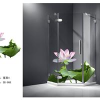 淋浴房3D图案 2015最新款淋浴房