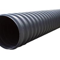 乐山钢带增强聚乙烯(PE)螺旋波纹管