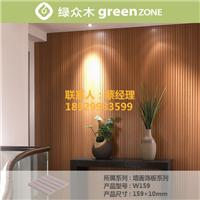 新型环保装饰材料生态木护墙板