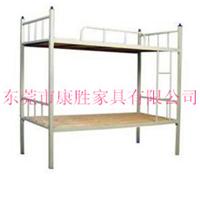康胜销售双层铁架床_牢固耐用上下铺床