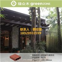 供应独家销售防水生态木方通
