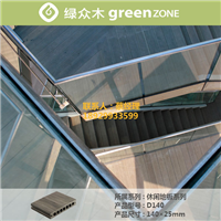 供应优质环保防水耐磨生态木户外休闲地板