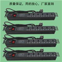 PDU机柜专用电源插座1U6位19英寸10A