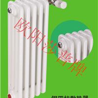 供应钢制柱型钢四暖气片散热器
