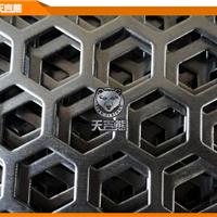 厂家直供加工定制六边形孔冲孔板不锈钢板金属板穿孔网