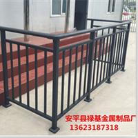 供应热镀锌管喷塑的阳台栏杆 阳台锌钢护栏