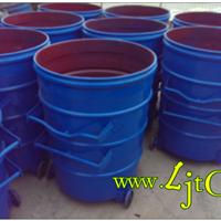 绵阳铁皮垃圾桶绵阳上挂车铁皮垃圾桶
