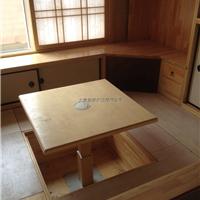 供应实木榻榻米定制|实木床品定做|龙桥家具