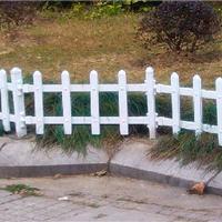 pvc塑料护栏 绿地白色塑料花草塑料护栏