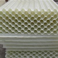 供应玻璃钢斜管填料