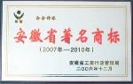 安徽省著名产品商标
