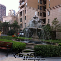 供应黄锈石水钵 石材喷泉 水钵喷泉
