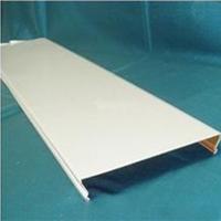 C型铝条扣天花 长条形铝扣板铝条扣生产厂家