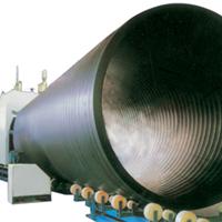 供应大口径管材设备-塑料中空壁缠绕管机器