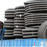 聚乙烯碳素螺旋管HDPE碳素单壁波纹管螺旋管