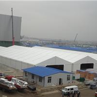 批发供应中山市防水PVC篷布临时仓库篷房