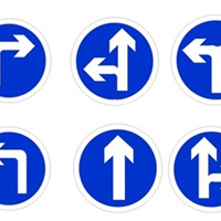 供应广西南宁玻璃钢交通道路指示牌