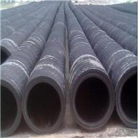 喷砂胶管,大口径带法兰排泥浆夹布胶管