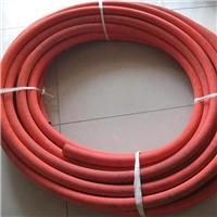 无毒耐温夹布硅胶管 红色 蓝色 厂家