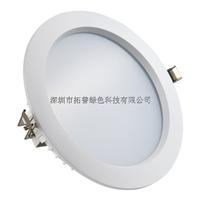 供应8寸LED筒灯配件 压铸铝LED筒灯套件