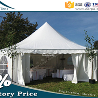 供应重庆6*6米尖顶欧式篷房、野餐帐篷