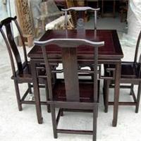 供应上海闵行区新红木餐桌回收旧家具收购