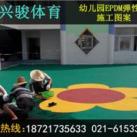 供应上海市幼儿园塑胶彩色地坪,厂家施工