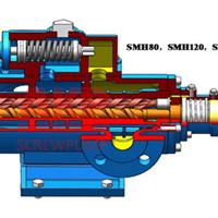 SMH210R40E6.7W21杭州垃圾发电三螺杆泵