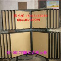 翻页式瓷砖展架木地板展架可按空间尺寸设计