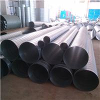 现货供应白铁皮螺旋风管/圆形镀锌风管