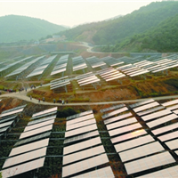 农光互补光伏发电系统,光伏板,光伏组件